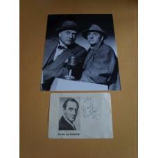 Basil Rathbone - Sherlock Holmes.