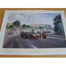 Graham Hill - Monaco Master.