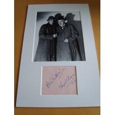 Sherlock Holmes - Basil Rathbone & Nigel Bruce.