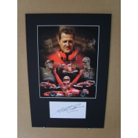 Michael Schumacher - Signed Montage