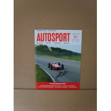 John Surtees Signed Magazine.