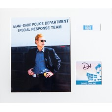 CSI Miami - David Caruso Signed Fan Card.