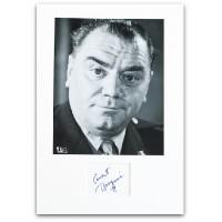 Ernest Borgnine Signed Page