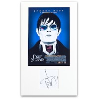 Johnny Depp Signed Page A