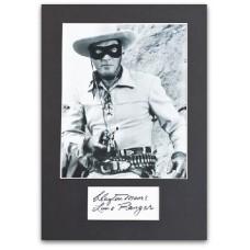 Lone Ranger - Clayton Moore