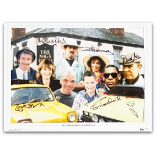 Only fools & Horses Signed Montage.